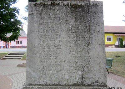 Gávavencsellő - Gáva I. világháborús emlékmű 2014.06.23. küldő-kalyhas (5)