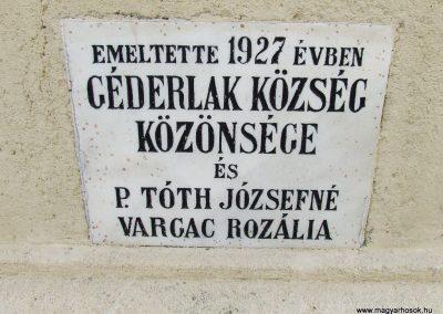 Géderlak világháborús emlékmű 2007.10.18.küldő-Markó Péter (4)