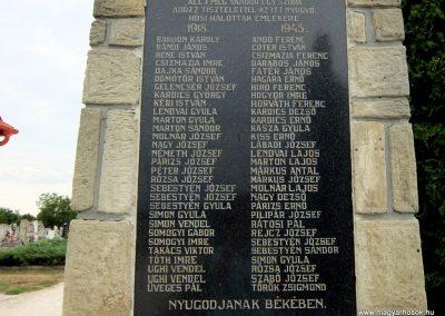 Gógánfa világháborús emlékmű 2015.07.27. küldő-Méri (2)