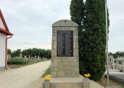 Gógánfa világháborús emlékmű 2015.07.27. küldő-Méri