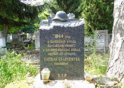 Gödöllő - Máriabesnyő II. világháborús emlékmű 2014.08.10. küldő-Méri (1)