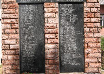 Gödre II.vh emlékmű 2007.08.05.küldő-Kályhás (1)
