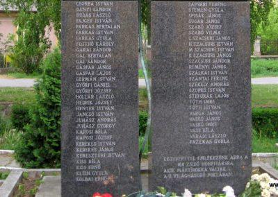 Gönc II.vh emlékmű 2009.05.02. küldő-kalyhas (4)