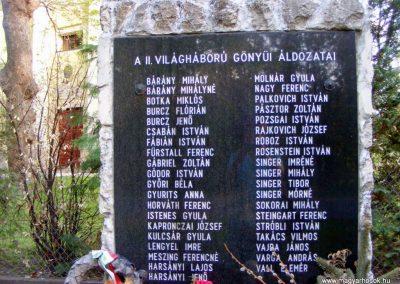 Gönyü II.vh emlékmű 2012.04.27. küldő-Méri (2)