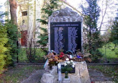 Gönyü II.vh emlékmű 2012.04.27. küldő-Méri