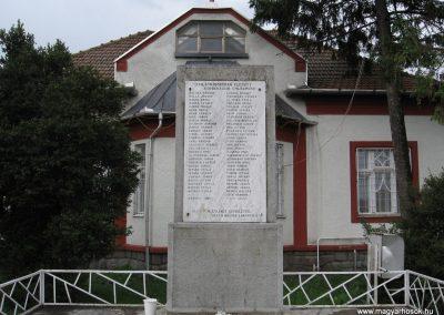 Görbeháza II.vh emlékmű 2008.07.15.küldő-Kályhás (1)