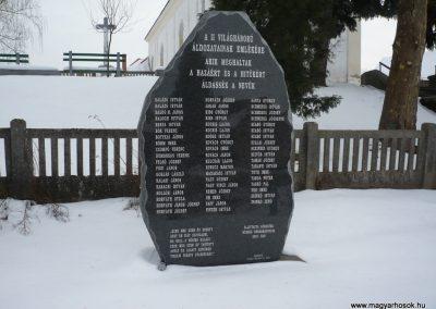Görgeteg II.vh emlékmű 2010.02.17. küldő-Sümec