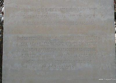 Gúta I.vh emlékmű 2010.03.27. küldő-Felvidéki betyár (3)