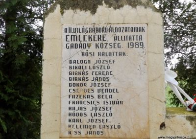 Gadány II. világháborús emlékmű 2014.10.25. küldő-kalyhas (3)