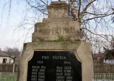 Gagybátor világháborús emlékmű 2014.02.15. küldő-kalyhas (3)