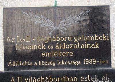 Galambok világháborús emlékmű 2009.11.28. küldő-Brilly (4)
