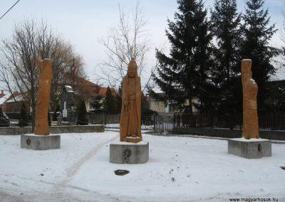 Galgaguta II.vh emlékmű 2010.01.26. küldő-kalyhas
