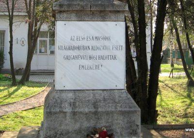 Galgahévíz világháborús emlékmű 2009.04.10. küldő-kalyhas (3)