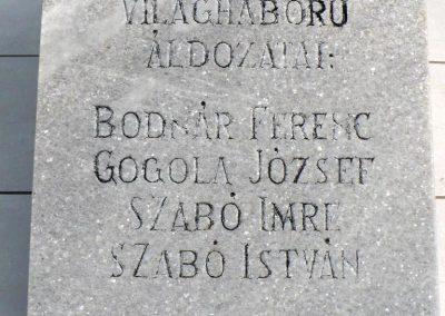 Galvács világháborús emlékmű 2010.08.14. küldő-Gombóc Arthur (3)
