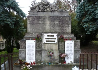 Gamás világháborús emlékmű 2009.12.09. küldő-Sümec (4)