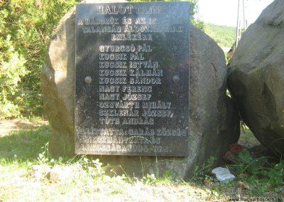 Garáb Emléktábla a hősöknek 2008.08.18.küldő-Mónika39-Mónika39 (1)
