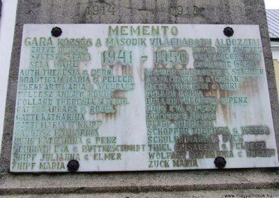 Gara világháborús emlékmű 2007.12.08.küldő-Markó Péter (2)