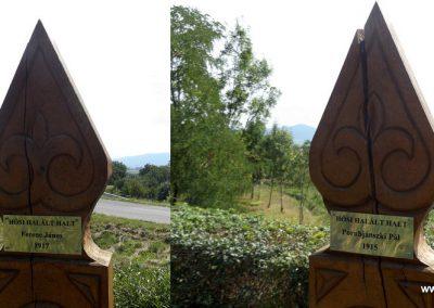 Garadna I. világháborús emlékpark 2015.08.23. küldő-kalyhas (13)