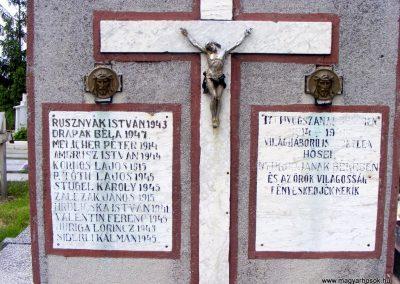 Garamkövesd I. és II. világháborús emlékmű