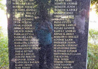 Gavavencsello_Gava_II. világháborús emlékmű kiegészítve a gulágra hurcoltak emléktábláival 2018.11.12. küldő-Eszterhai Zsuzsa (4)