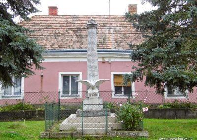 Gecse, I. világháborús emlékmű