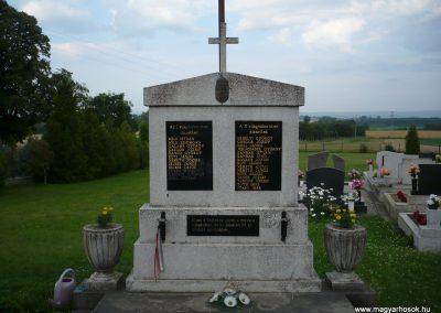 Gelsesziget világháborús emlékmű 2009.07.01.küldő-Sümec
