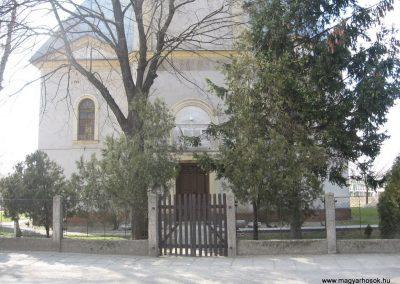 Gesztely I.vh emléktábla a református templom falán 2009.03.21.küldő-kalyhas