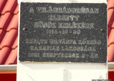 Gilvánfa világháborús emlékmű 2012.08.01. küldő-KRySZ (3)