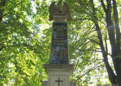 Girincs I. világháborús emlékmű 2007.09.24. küldő-kalyhas (1)