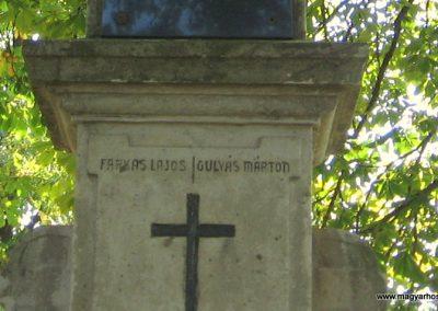 Girincs I. világháborús emlékmű 2007.09.24. küldő-kalyhas (5)