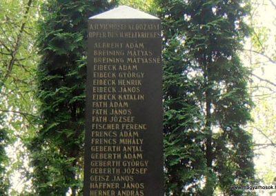 Grábóc világháborús emlékmű 2012.05.15. küldő-Bagoly András (8)
