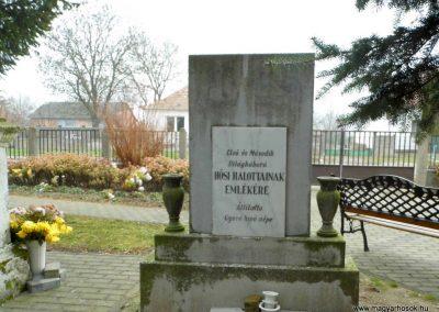 Gyóró I. és II. vh-s emlékmű