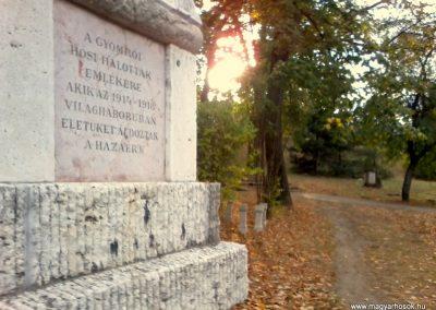 Gyömrő I.vh emlékmű 2011.10.08. küldő-Sándor Zoltán (2)