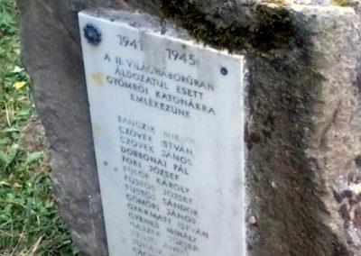 Gyömrő II.vh emlékmű 2011.07.18. küldő-Sándor Zoltán (2)