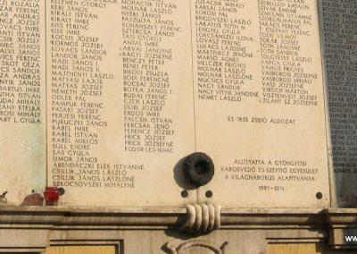 Gyöngyös II.vh emlékmű 2008.10.13.küldő-kalyhas (3)