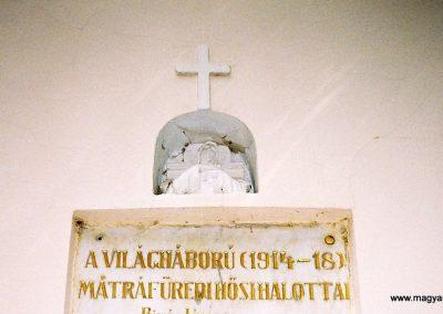 Gyöngyös-Mátrafüred I. világháborús emléktábla 2009. küldő-Emese (1)