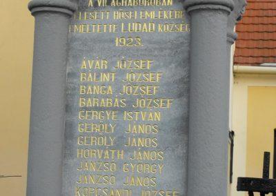 Gyöngyösfalu-Ludad I.vh emlékmű 2009.01.16.küldő-gyurkusz (2)