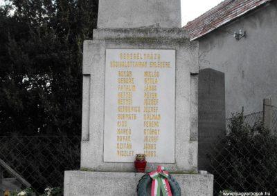Gyöngyösfalu-Seregélyháza I.vh emlékmű 2009.01.16.küldő-gyurkusz (2)