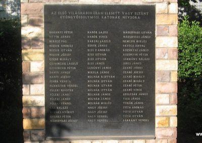Gyöngyössolymos világháborús emlékmű 2009.06.28. küldő-kalyhas (2)