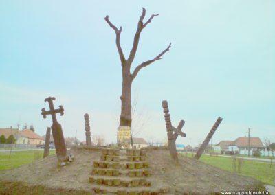 Györgytarló II.vh emlékmű 2009.12.05. küldő-Ágca (2)