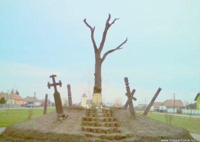 Györgytarló II.vh emlékmű 2009.12.05. küldő-Ágca