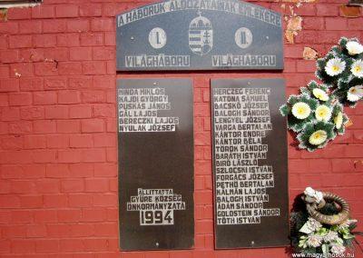 Gyüre világháborús emlékmű 2014.02.24. küldő-kalyhas (3)