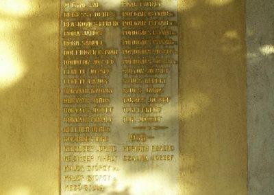Győr-Ménfőcsanak a ménfői világháborús áldozatok emléktáblái 2009.01.24.küldő-Ancsa84 (2)