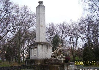 Győr-Radó sziget Világháborús emlékmű 2008.12.22.küldő-Ancsa84 (2)