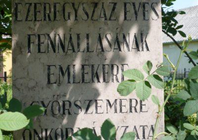 Győrszemere Hősi emlékmű 2010.06.07. küldő-Sümec (8)