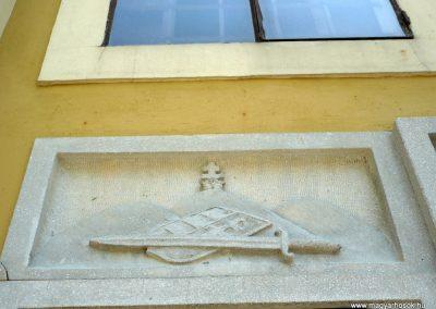 Győrszemere világháborús emléktáblák a templom falán 2010.06.07. küldő-Sümec (2)
