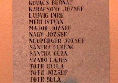 Győrzámoly II.vh emlékmű 2006.11.07. Küldő-Hege (2)