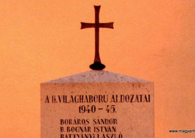 Győrzámoly II.vh emlékmű 2006.11.07. Küldő-Hege(1)