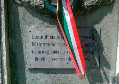 Gyarmat I.vh emlékmű 2010.08.11. küldő-Csiszár Lehel (3)