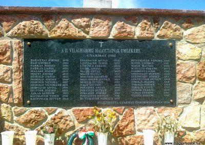 Gyarmat II.vh emlékmű 2010.08.11. küldő-Csiszár Lehel (2)